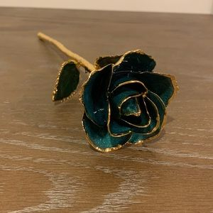 24K gold dipped rose